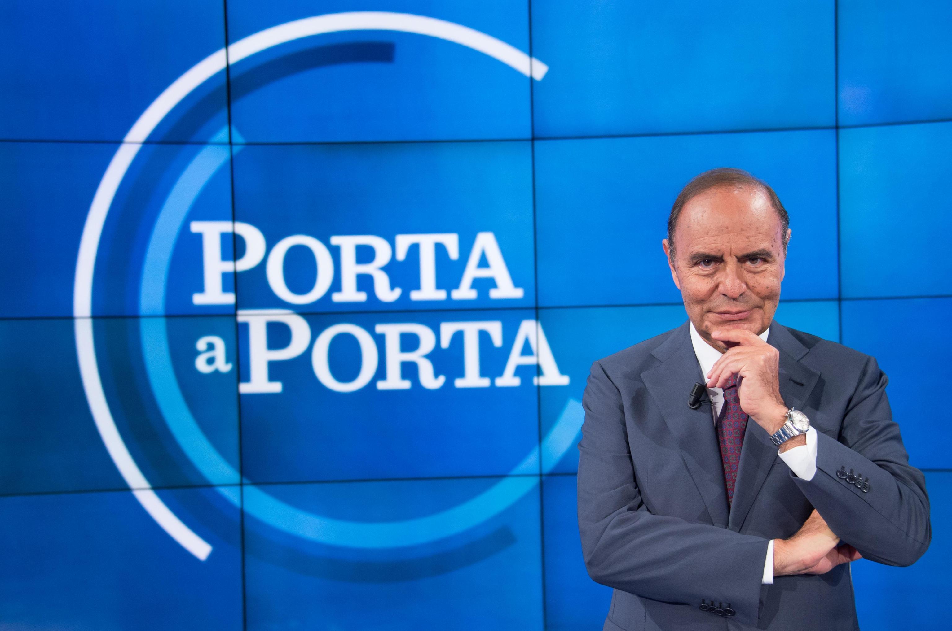 Bruno Vespa torna con Porta a Porta: compenso ridotto del 30%