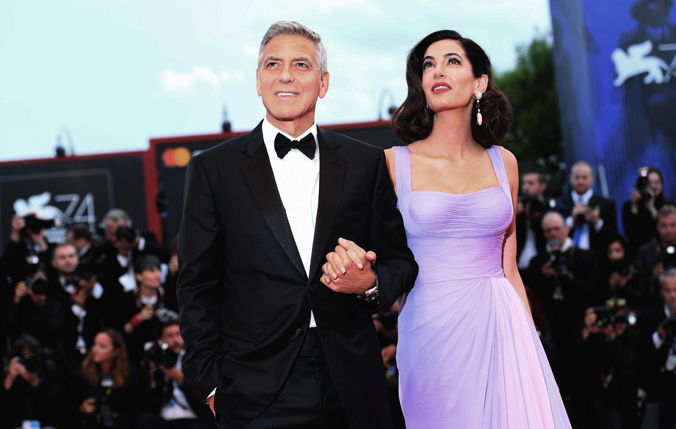 George Clooney Amal Alamuddin Venezia
