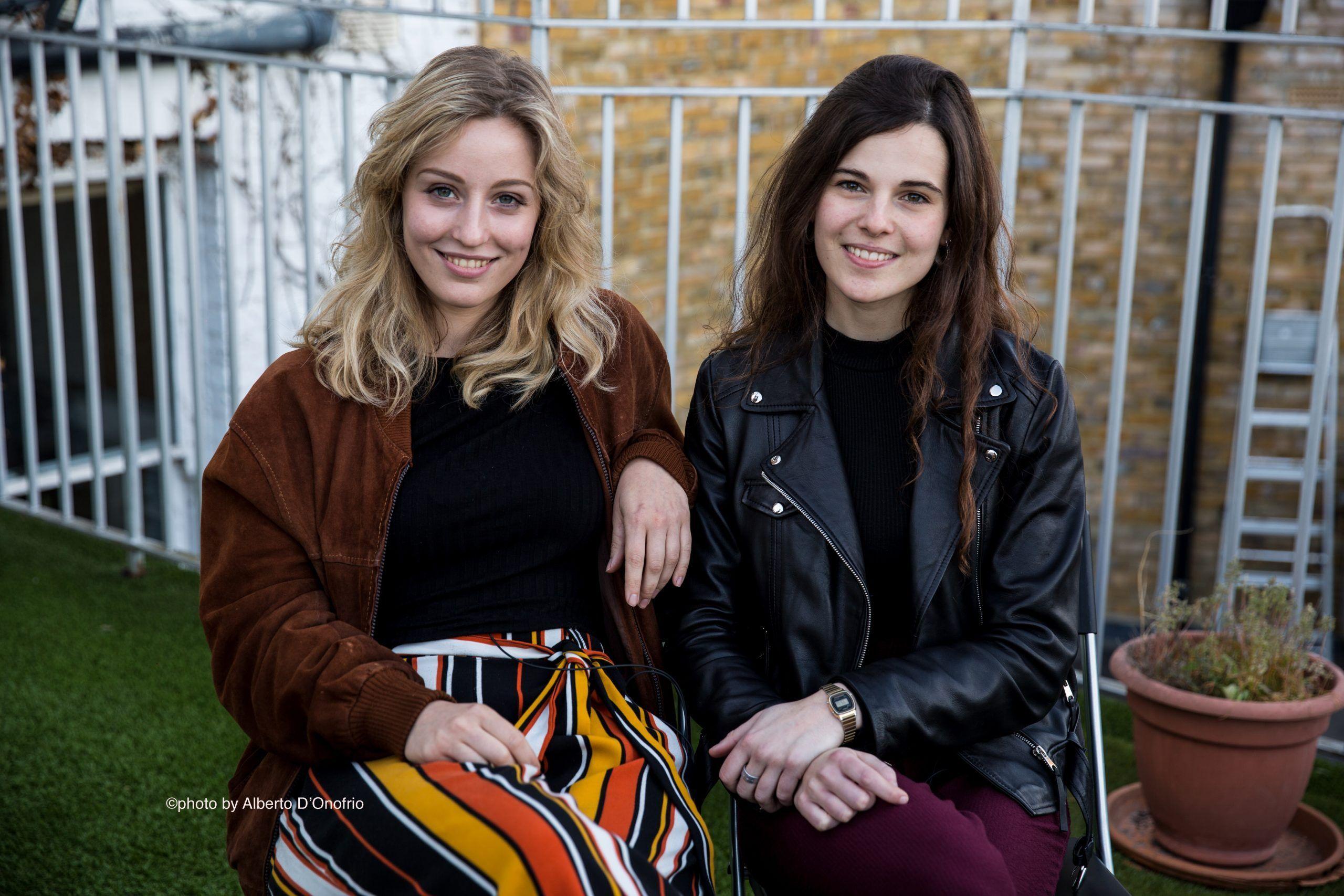 Giovani e Rebecca e Caterina Rai 2