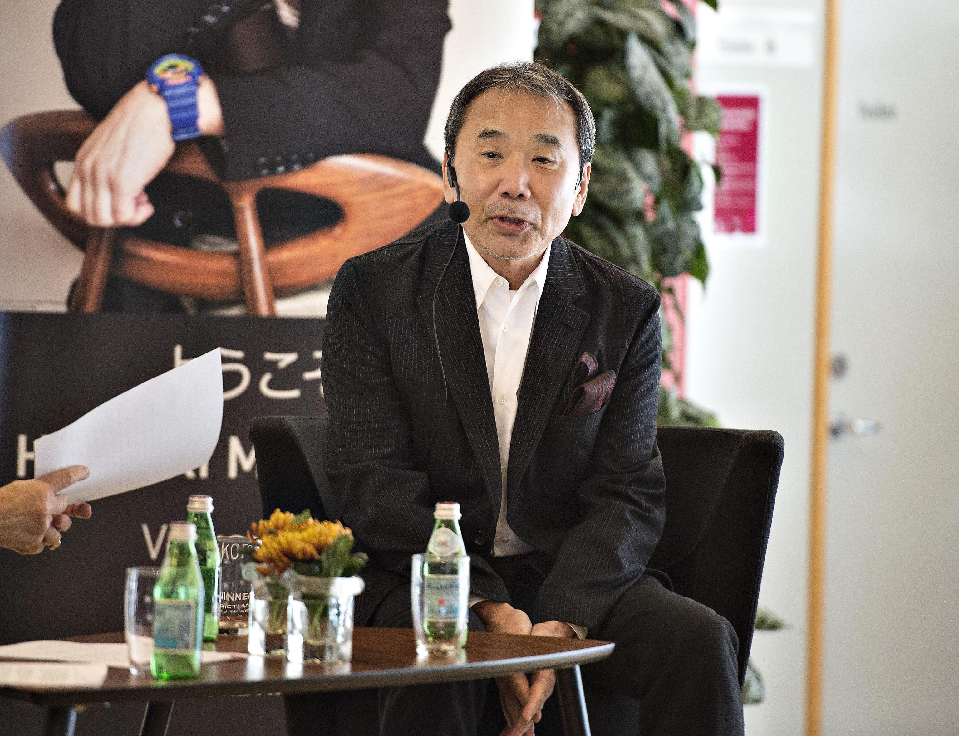 Haruki Murakami scrittore