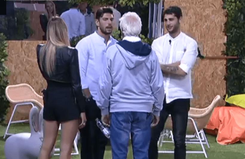 Jeremias Rodriguez minaccia Daniele Bossari al GF VIP 2