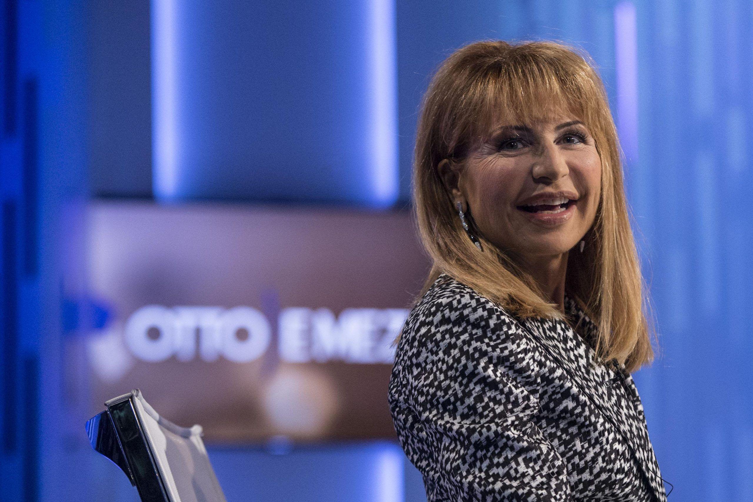 Premier Renzi ospite di Lilli Gruber a 'Otto e Mezzo'