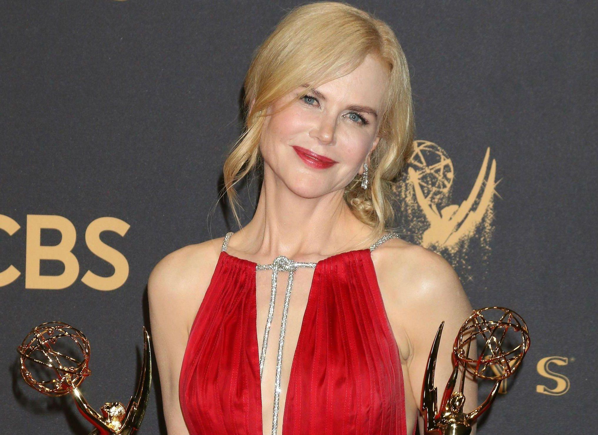 Emmy Awards 2017, Nicole Kidman 'dimentica' i due figli adottati con Tom Cruise nel suo discorso di ringraziamento