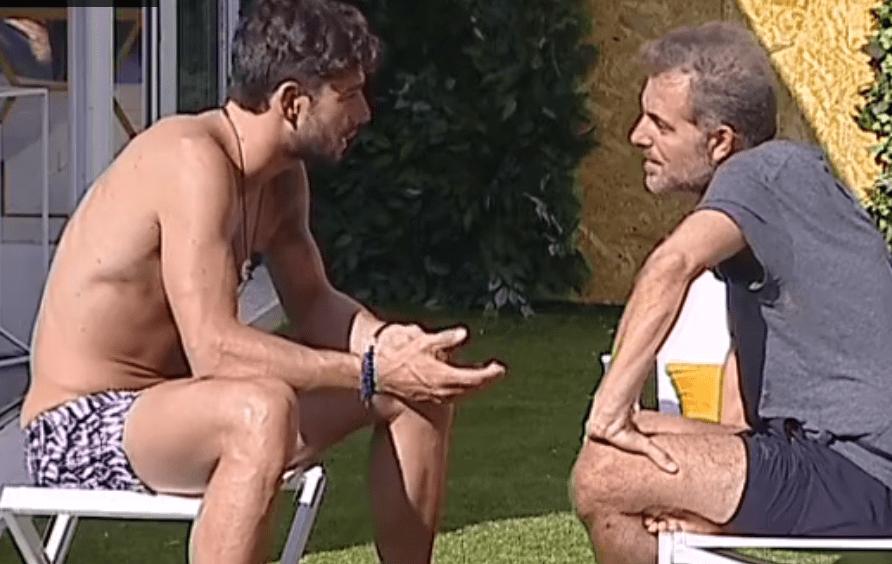 GF VIP 2, Daniele Bossari e Ignazio Moser fanno pace: torna la quiete nella Casa