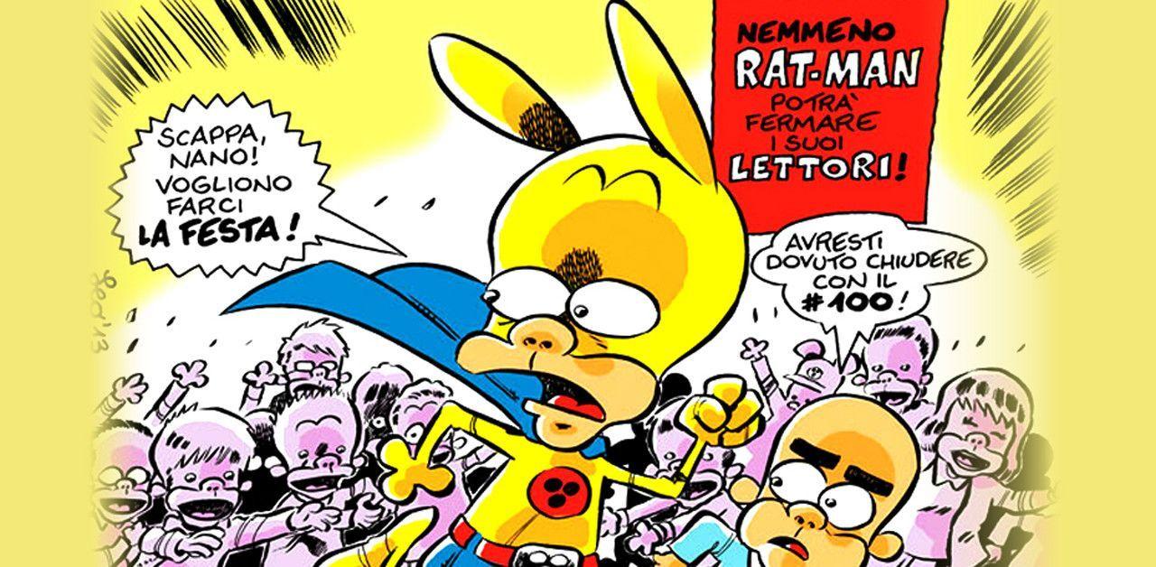Rat-Man: chiude la saga creata da Leo Ortolani