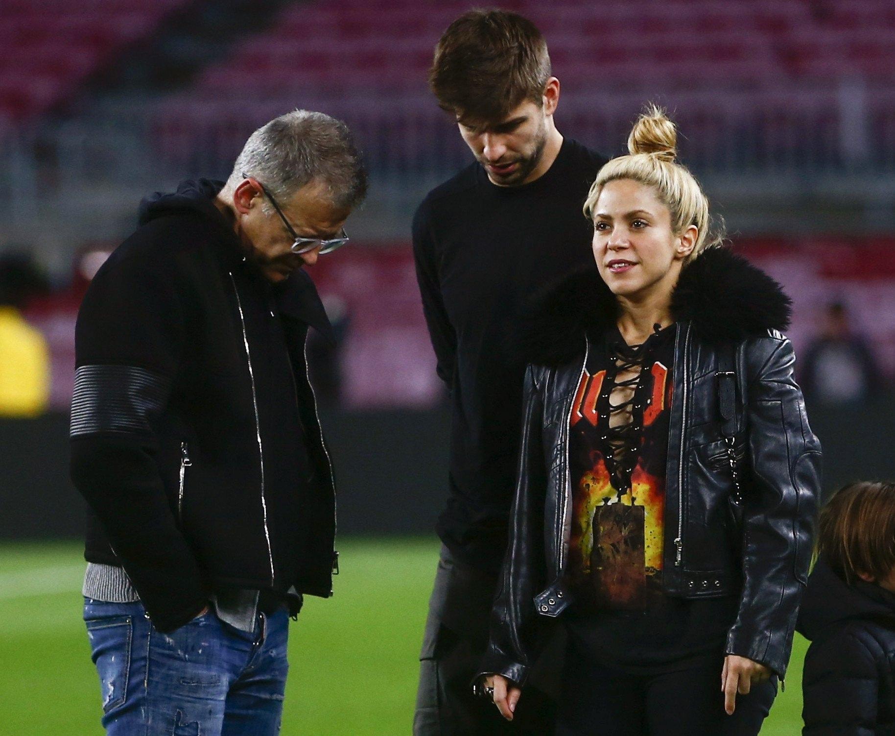 Piqué e Shakira sono in crisi? Il calciatore smentisce con uno scatto familiare