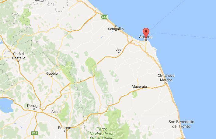 Terremoto ad Ancona: forte scossa avvertita dalla popolazione