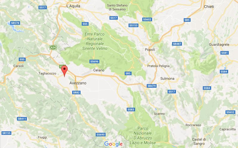 Terremoto in Abruzzo: scossa di magnitudo 3.7. Scuole chiuse ad Avezzano e Tagliacozzo