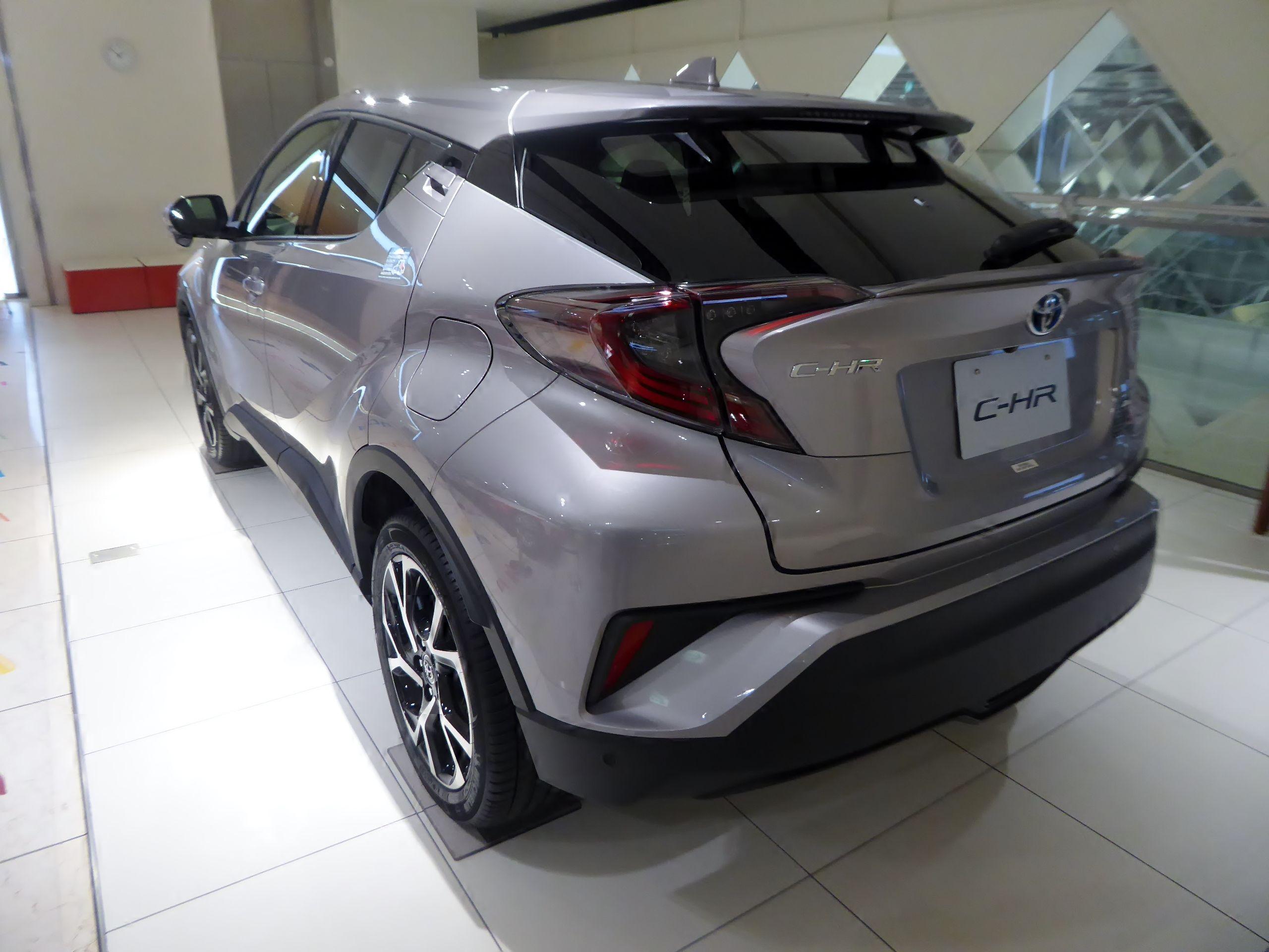 Toyota C-HR: richiamo per problemi al serbatoio e al freno di stazionamento