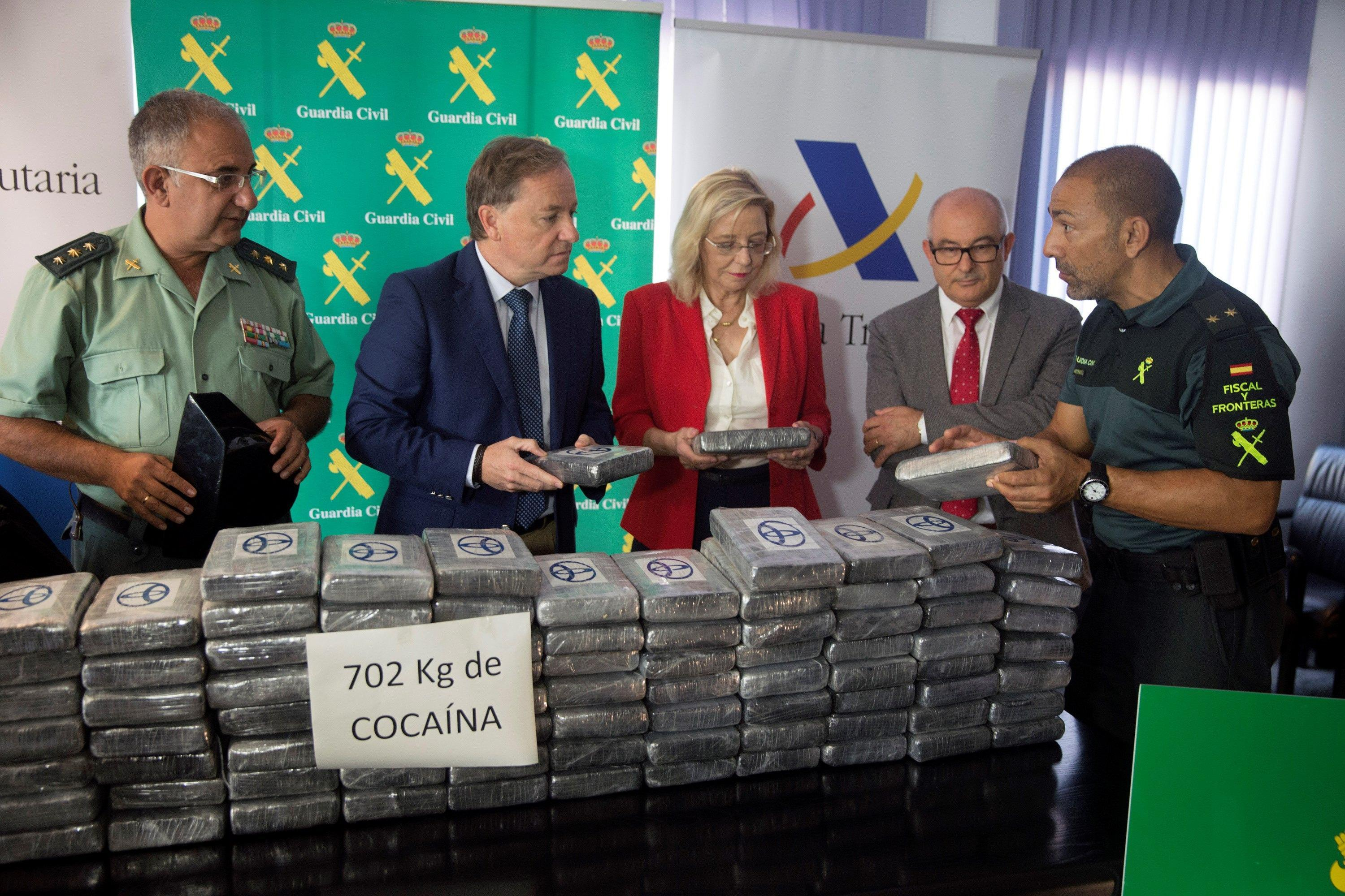 702kg of cocaine seized in Valencia's port