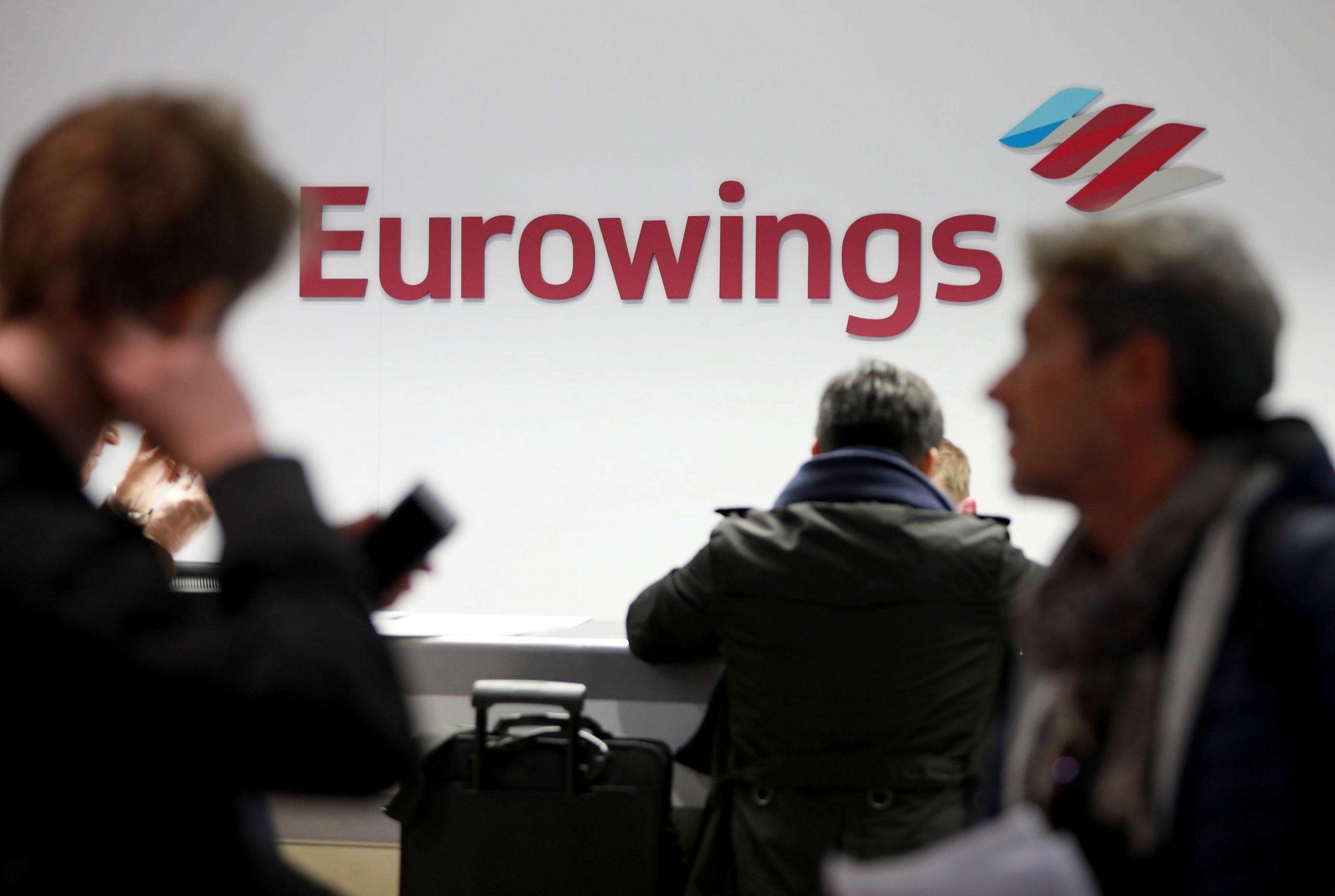 Eurowings offre lavoro: 1000 posti tra piloti e assistenti