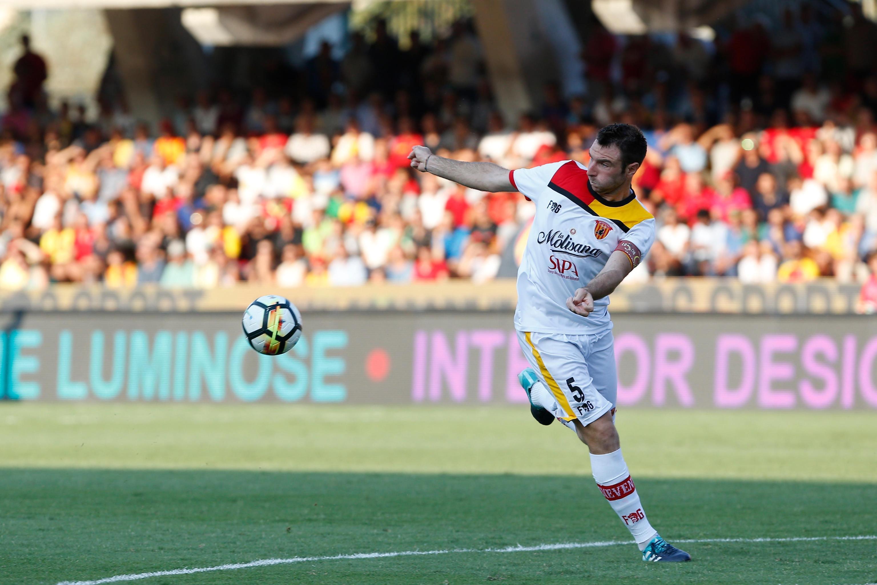 Fabio Lucioni positivo all'antidoping: il capitano del Benevento nei guai