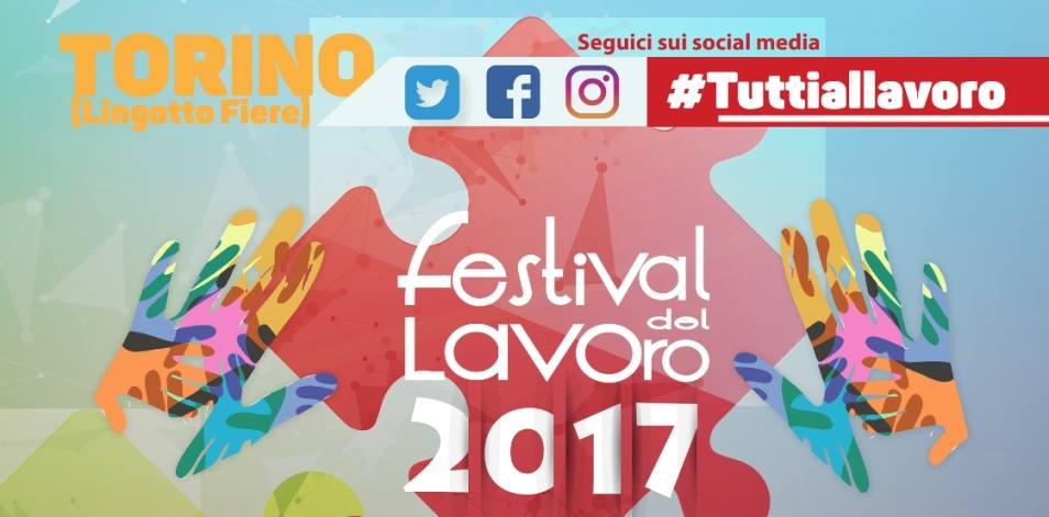 A Torino il Festival del lavoro '4.0', eventi dal 28 al 30 settembre