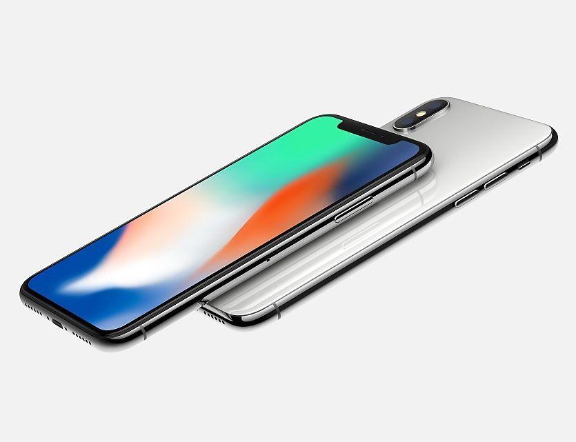 iPhone X fronte+retro