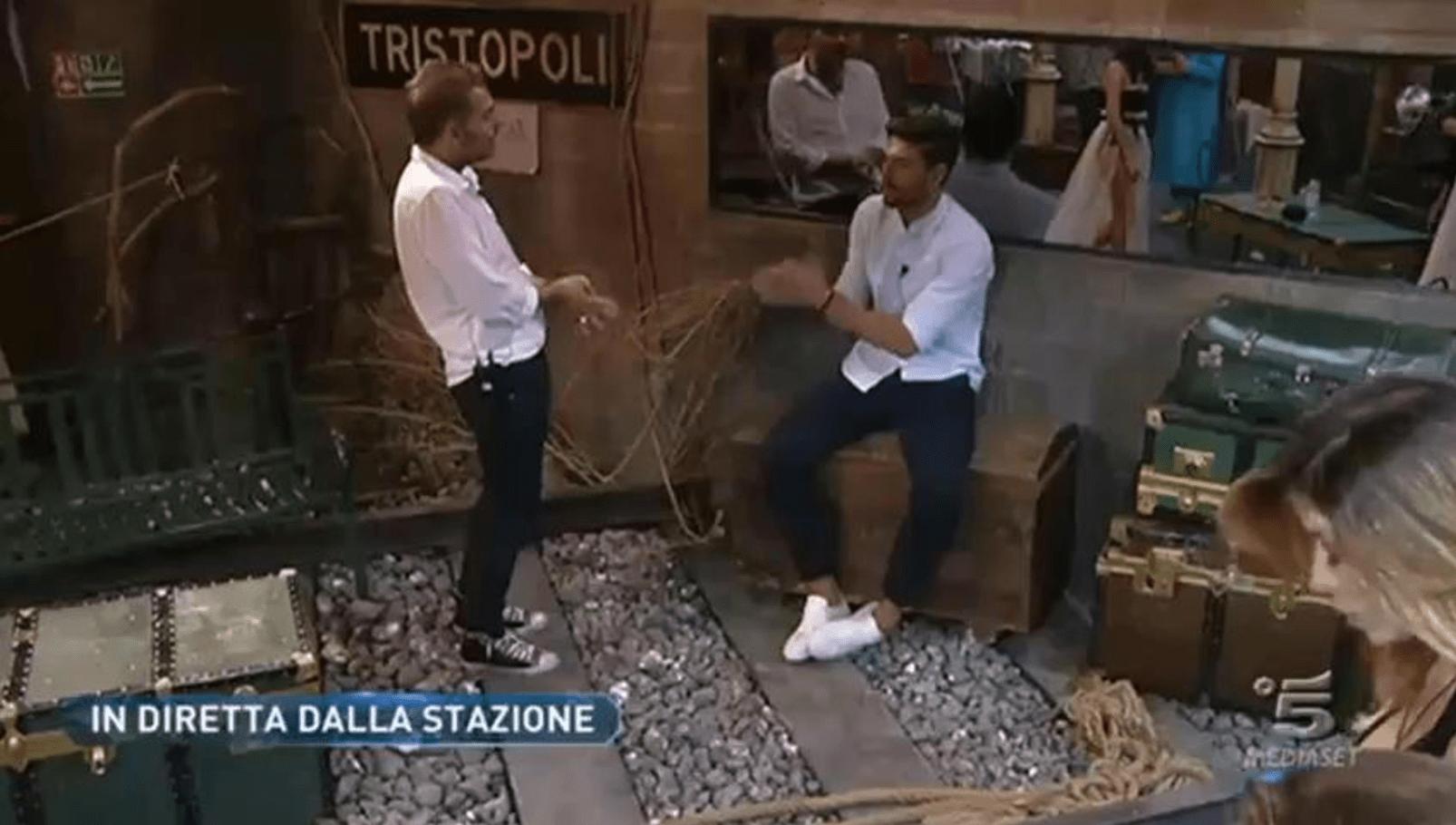 GF Vip 2, Ignazio Moser furioso con Daniele Bossari: 'Mi hai pugnalato alle spalle'