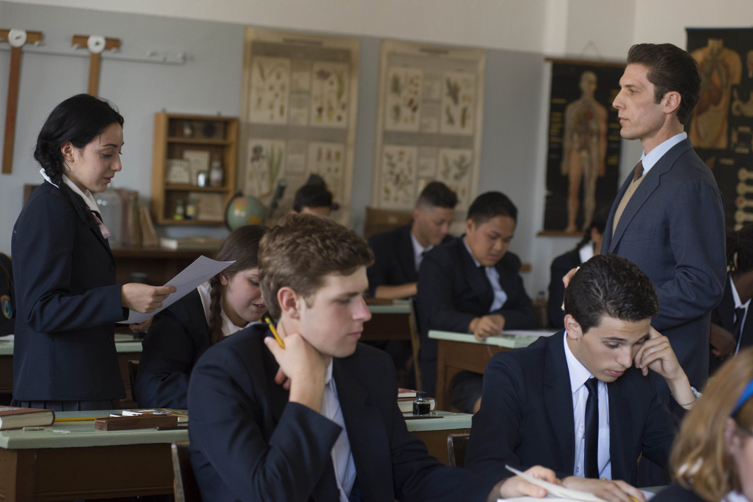 il collegio studenti e porfessori