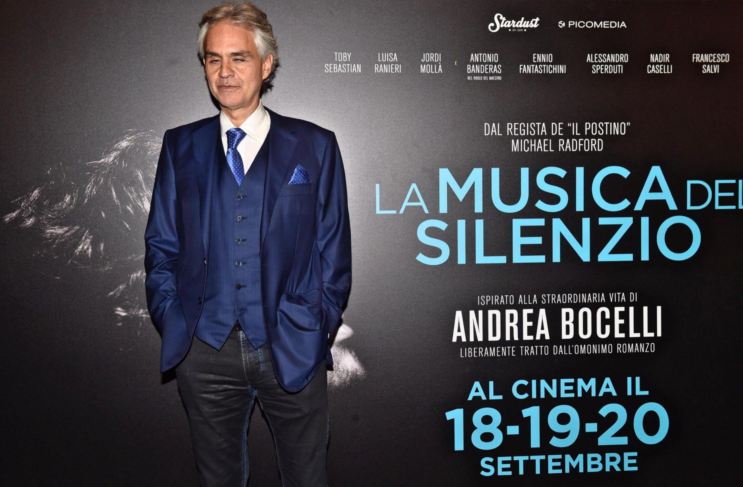 'La musica del silenzio', il film su Andrea Bocelli il 2 ottobre su Rai 1
