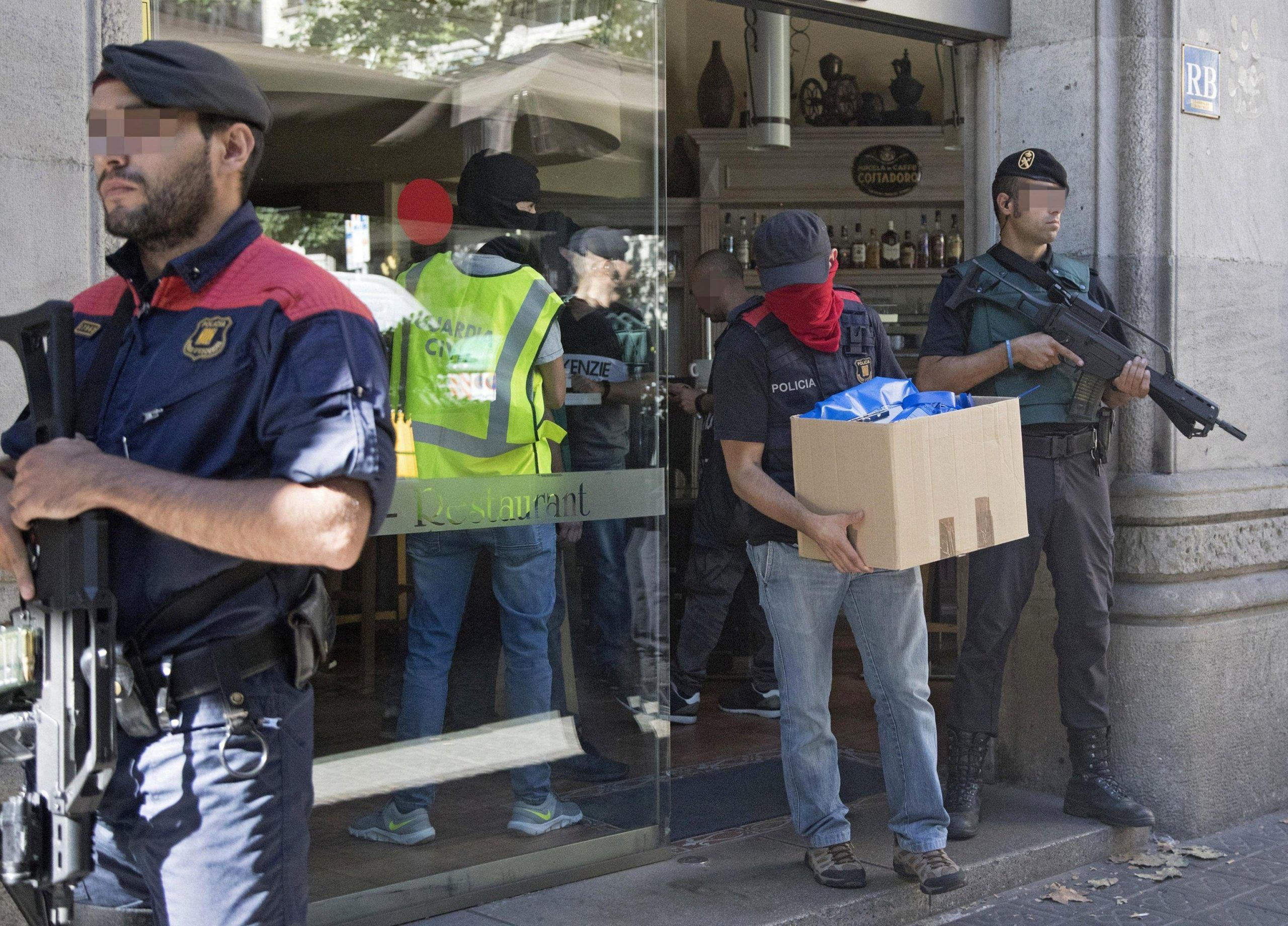 Police operation against Camorra gang in Barcelona