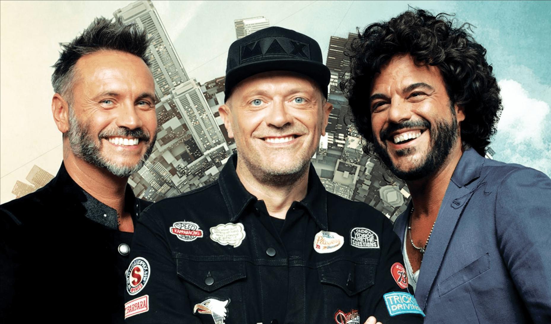 Max Pezzali, Nek e Francesco Renga, 'Duri da battere': un tour insieme