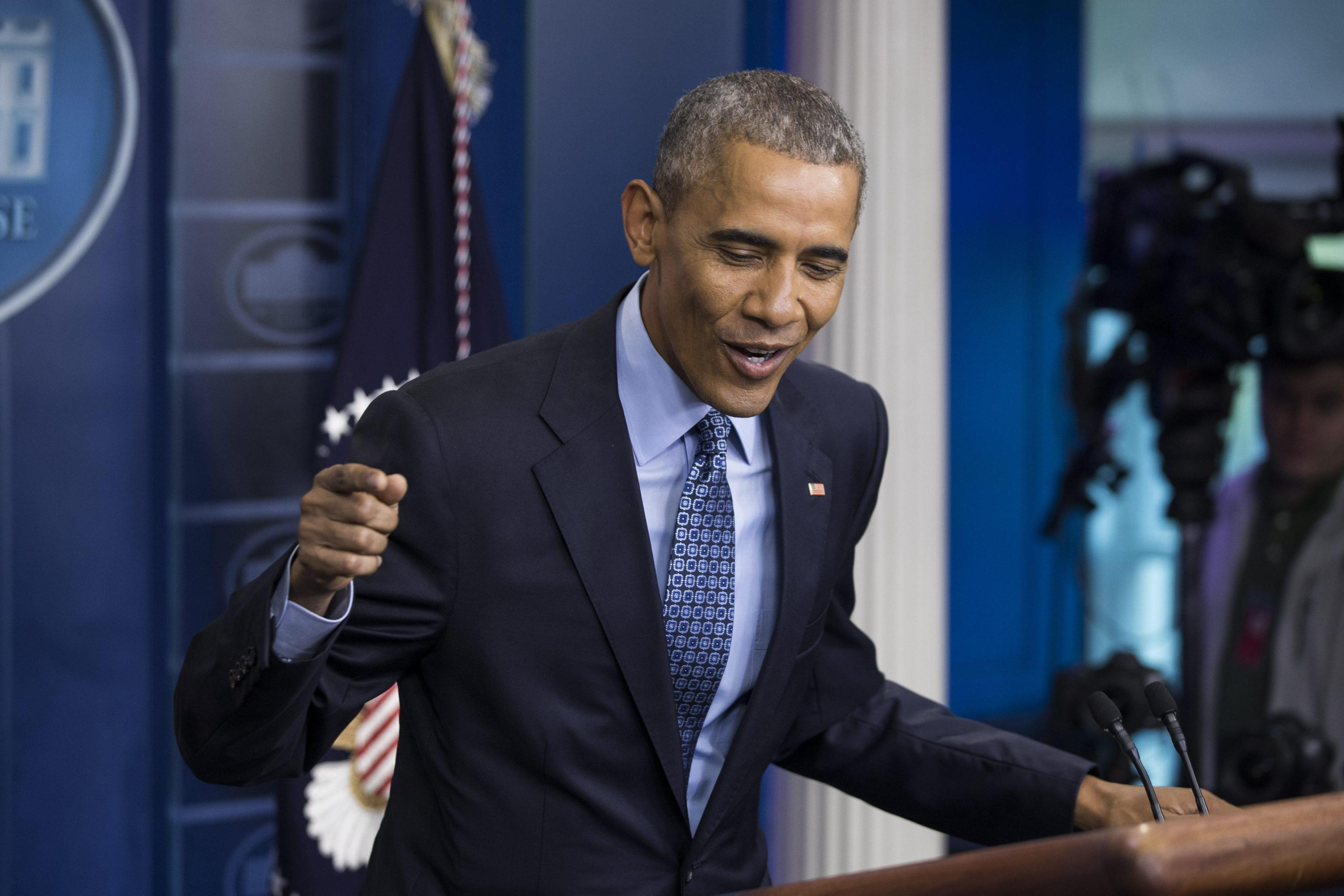 Obama Holds Last Press Conference as President