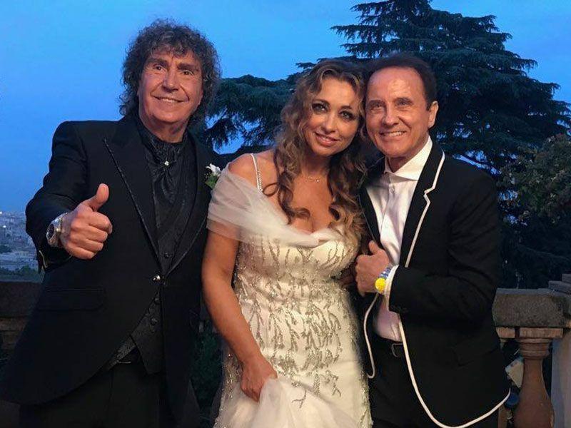 Stefano D'Orazio: matrimonio a Roma con Tiziana Giardoni