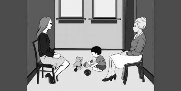 Quale delle due donne è la mamma del bambino che gioca? [QUIZ]