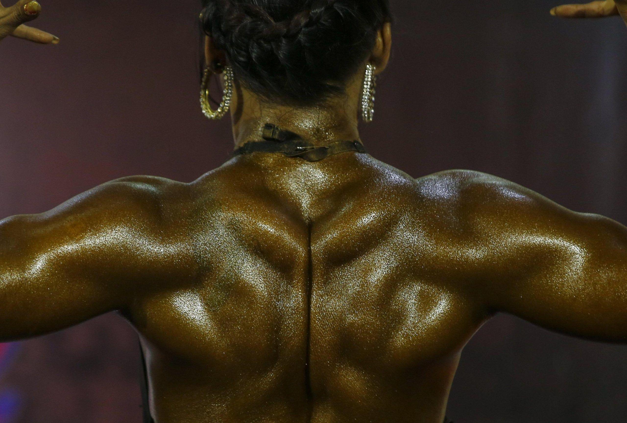 Bodybuilding donna