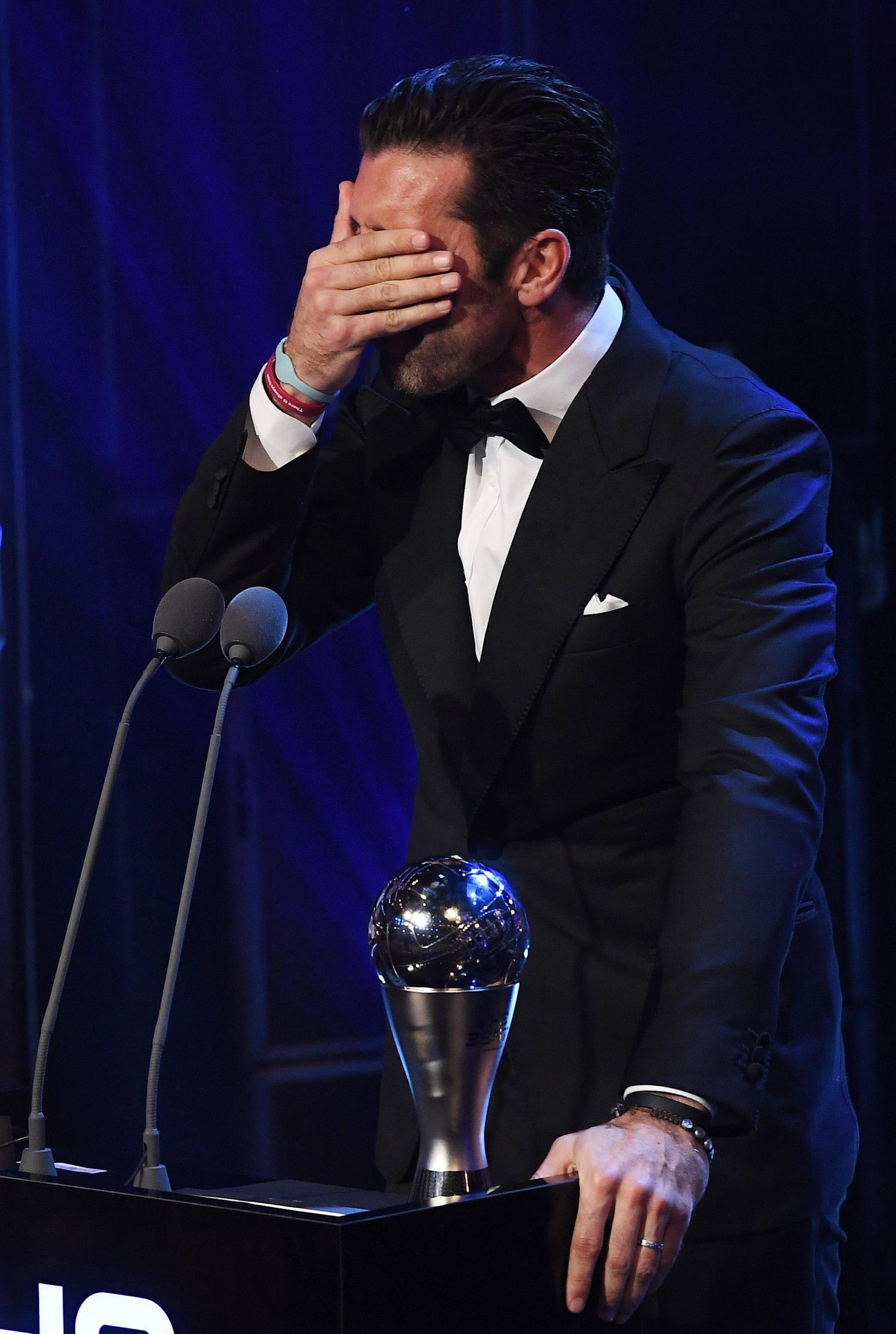 Fifa Awards video: Buffon miglior portiere del mondo nel 2017
