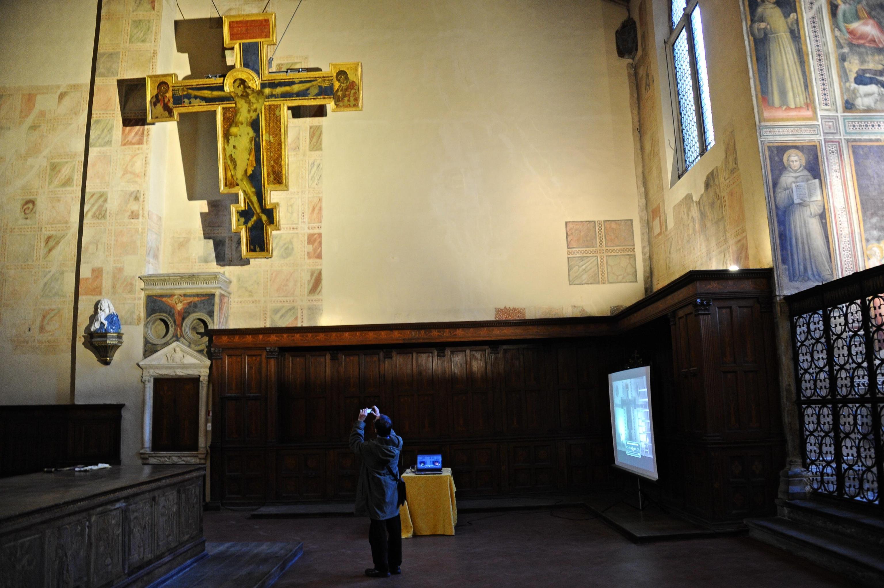 Crocifisso di Cimabue Santa Croce