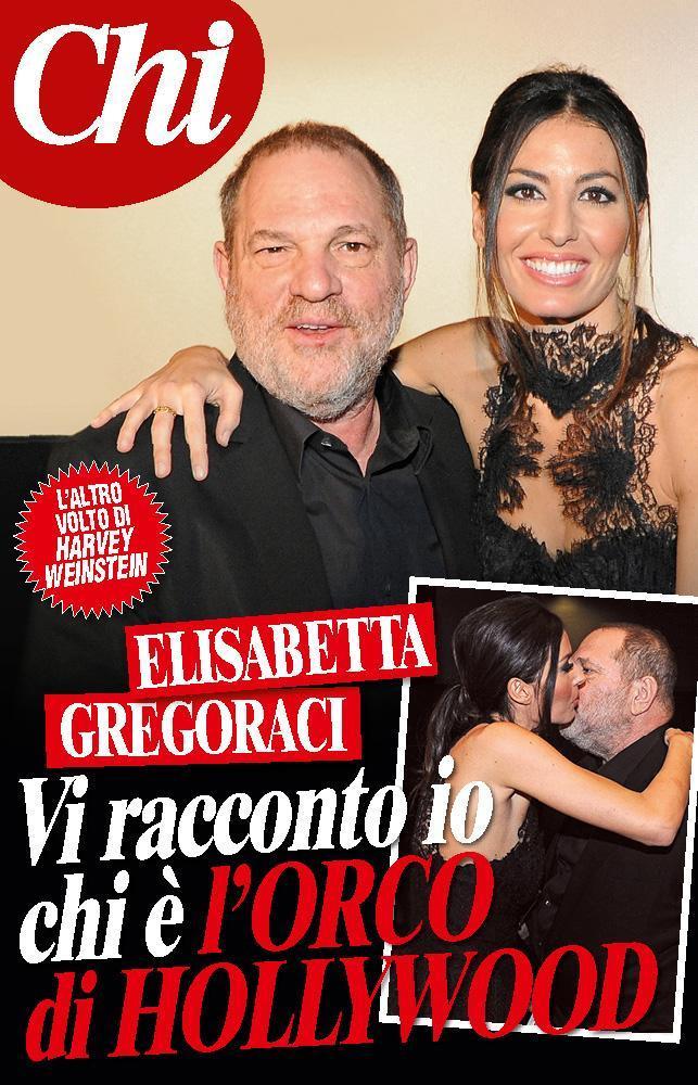 Chi: Elisabetta Gregoraci racconta Harvey Weinstein