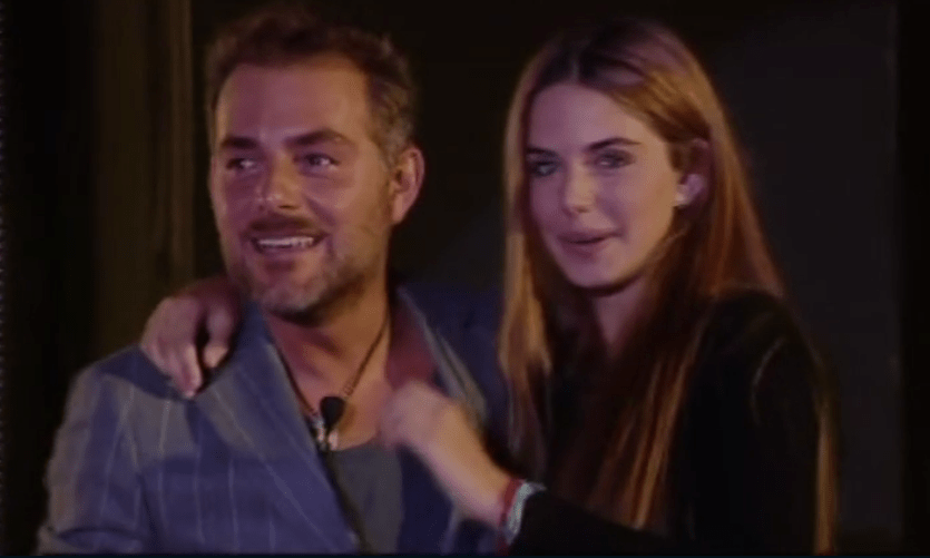 GF VIP 2, Daniele Bossari in lacrime per la sorpresa della figlia Stella