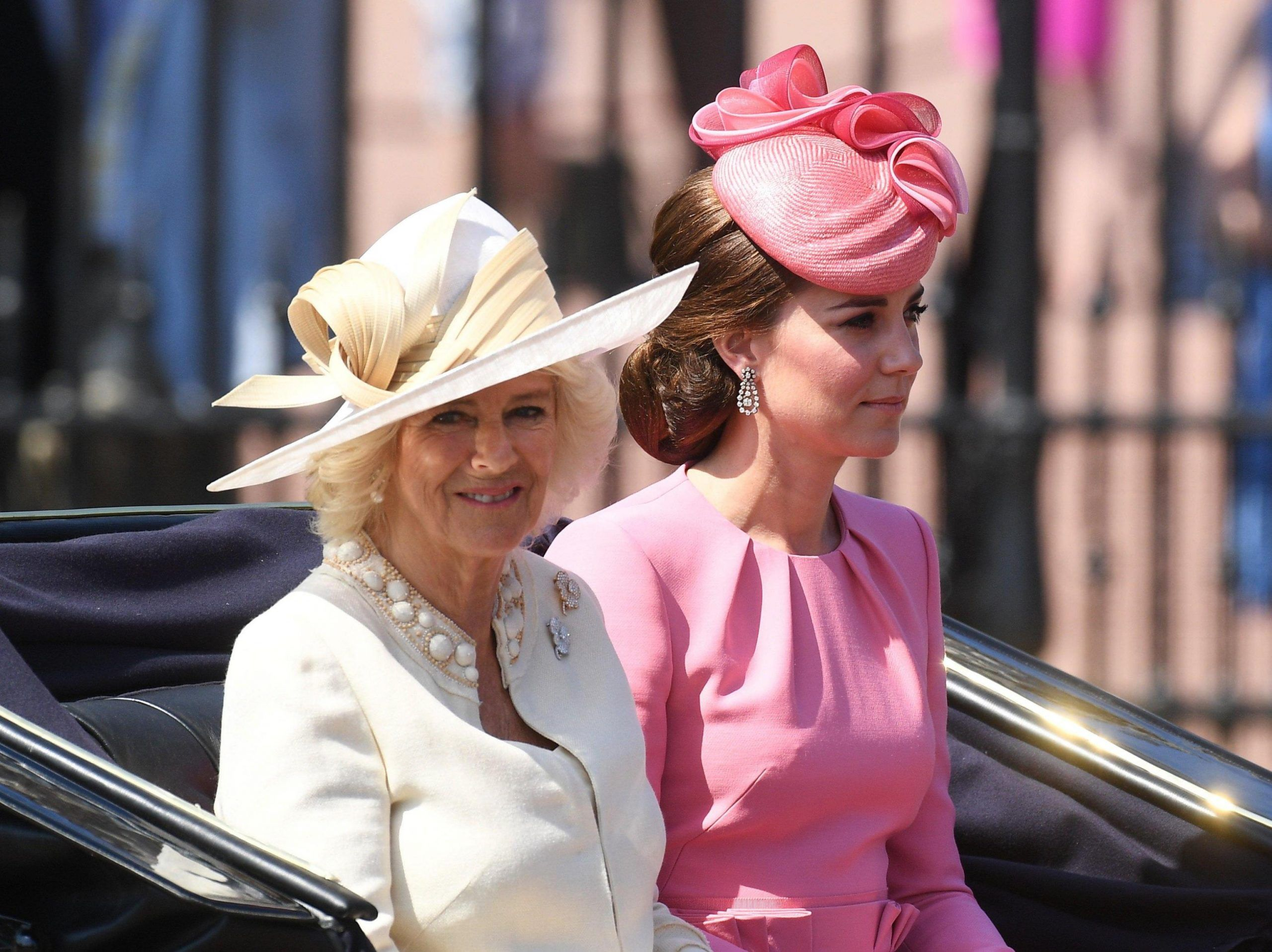 Trooping the Color Queen's 91st birthday parade in London