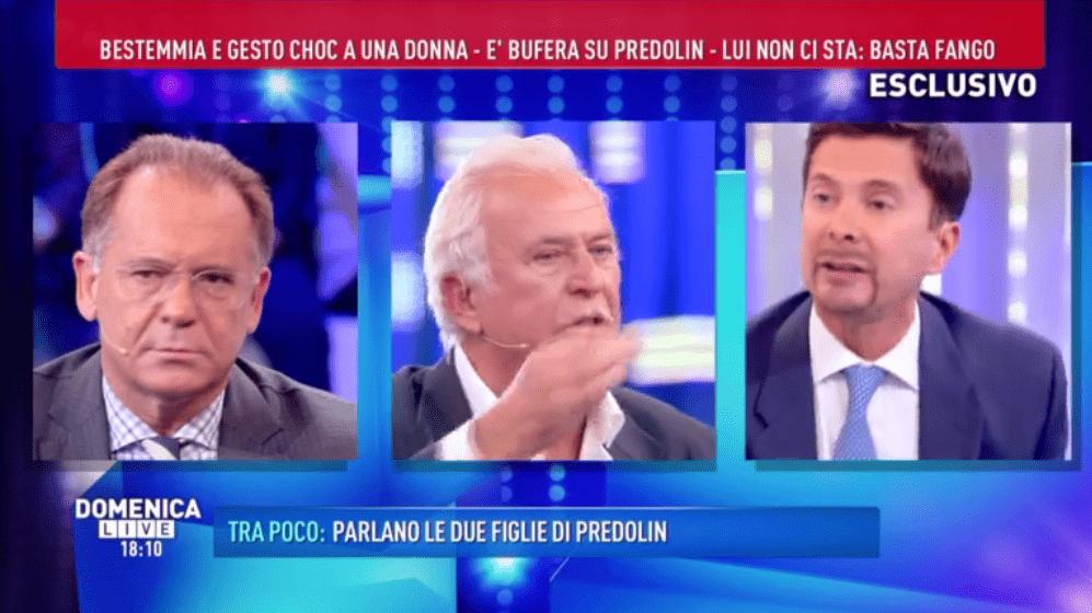 Domenica Live, Marco Predolin: 'Sono il classico uomo italiano e non mi vergogno'