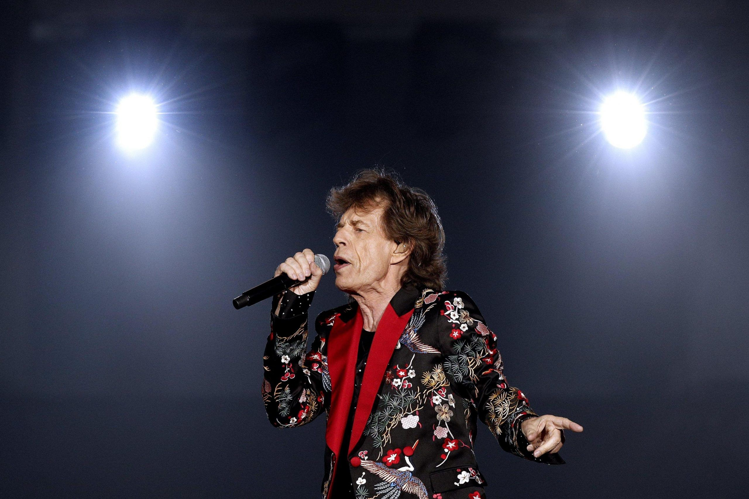 The Rolling Stones concert in France