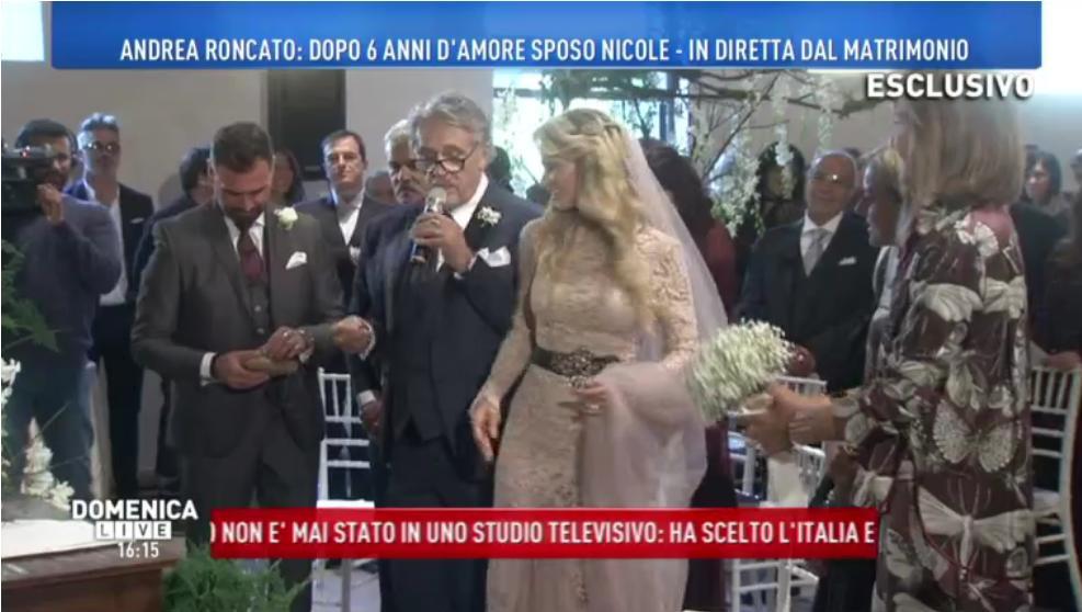 Andrea Roncato, matrimonio a 70 anni: sposa la compagna Nicole Moscariello