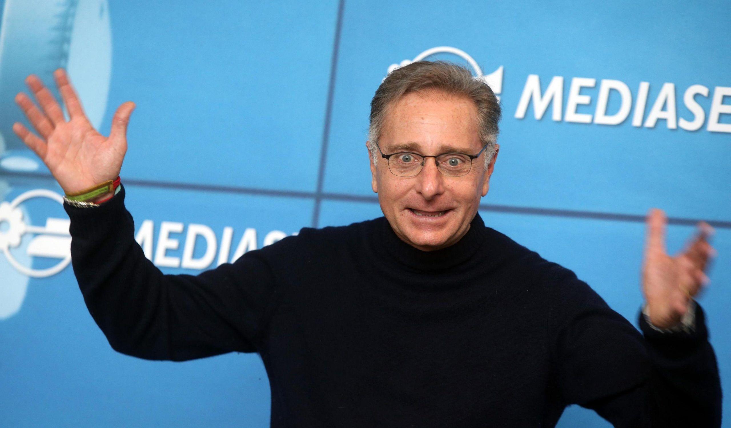 Conferenza stampa Mediaset