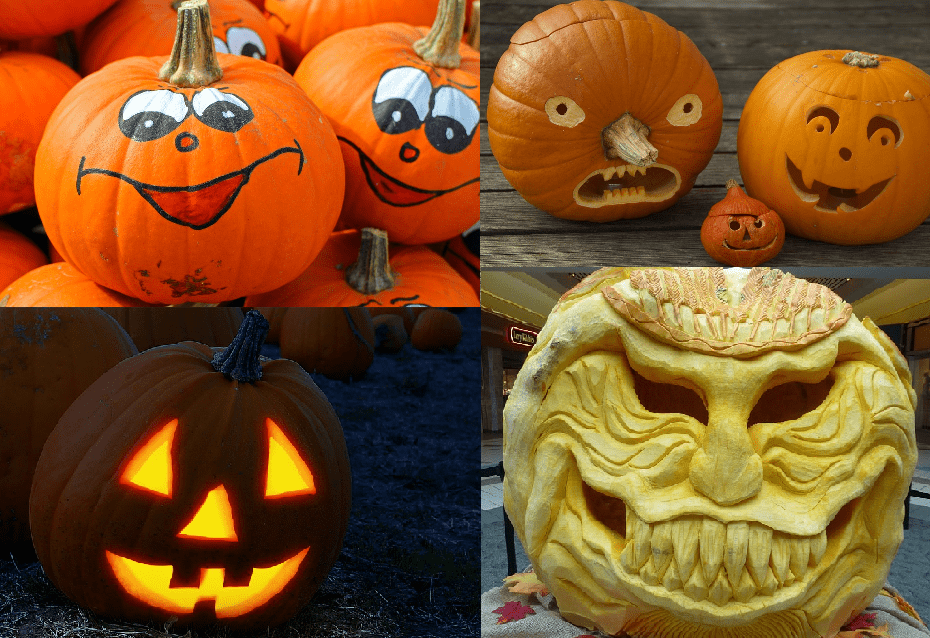 Personalita zucca di Halloween 0