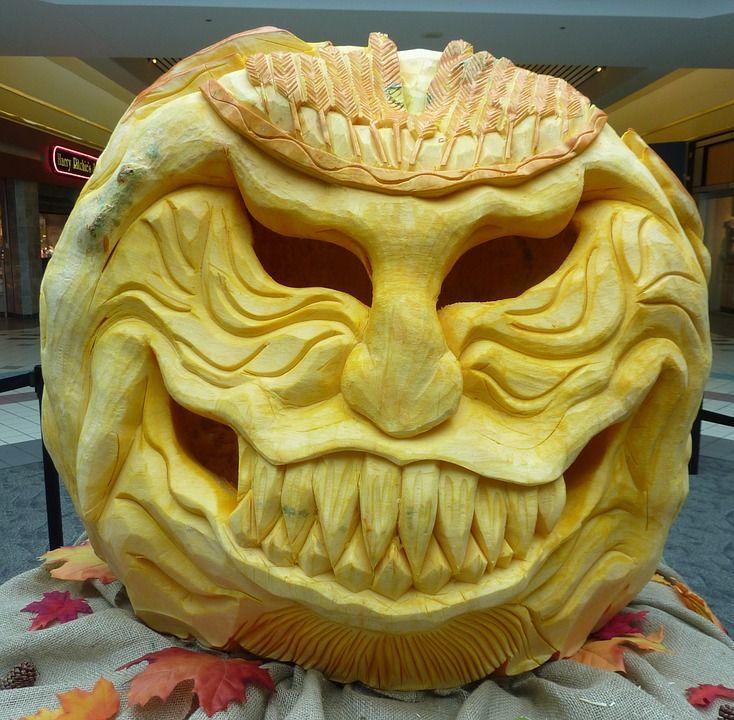 Personalita zucca di Halloween 4