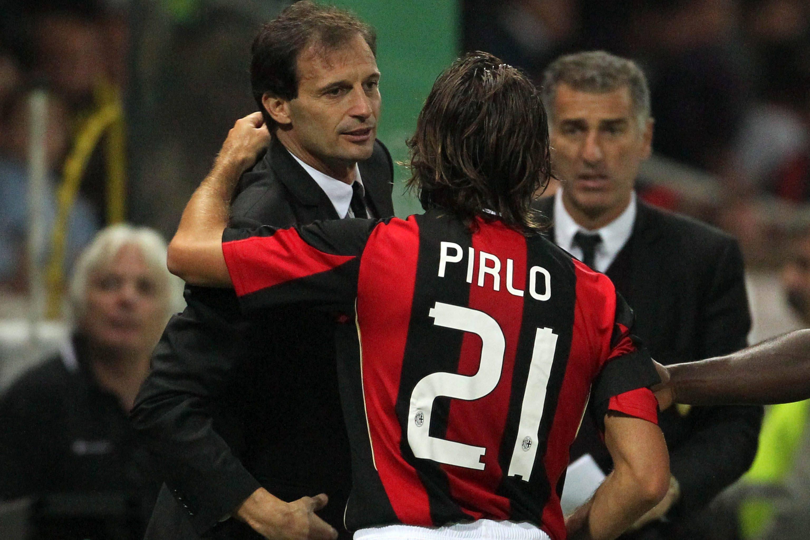 Pirlo al Milan