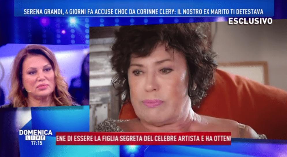 Polemica tra Serena Grandi e Corinne Clery