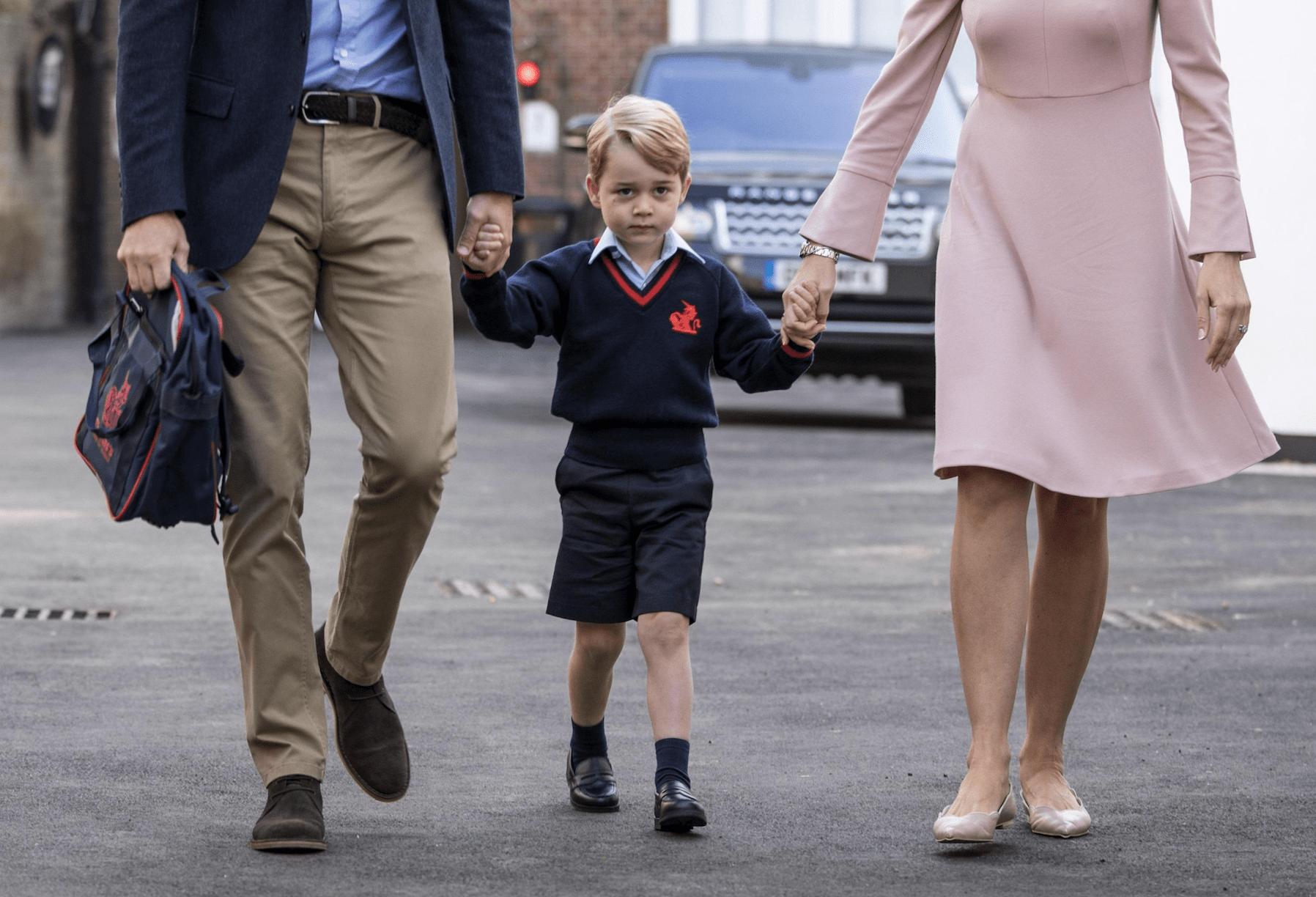 Principe George all'asilo: il cambio di cognome e il divieto di avere migliori amici
