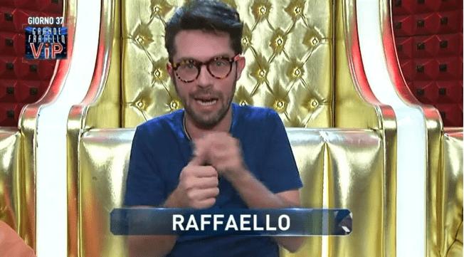 Raffaello Tonon al GF VIP 2