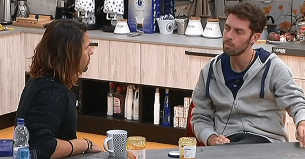 Raffaello Tonon si confida con Luca Onestini al GF VIP 2
