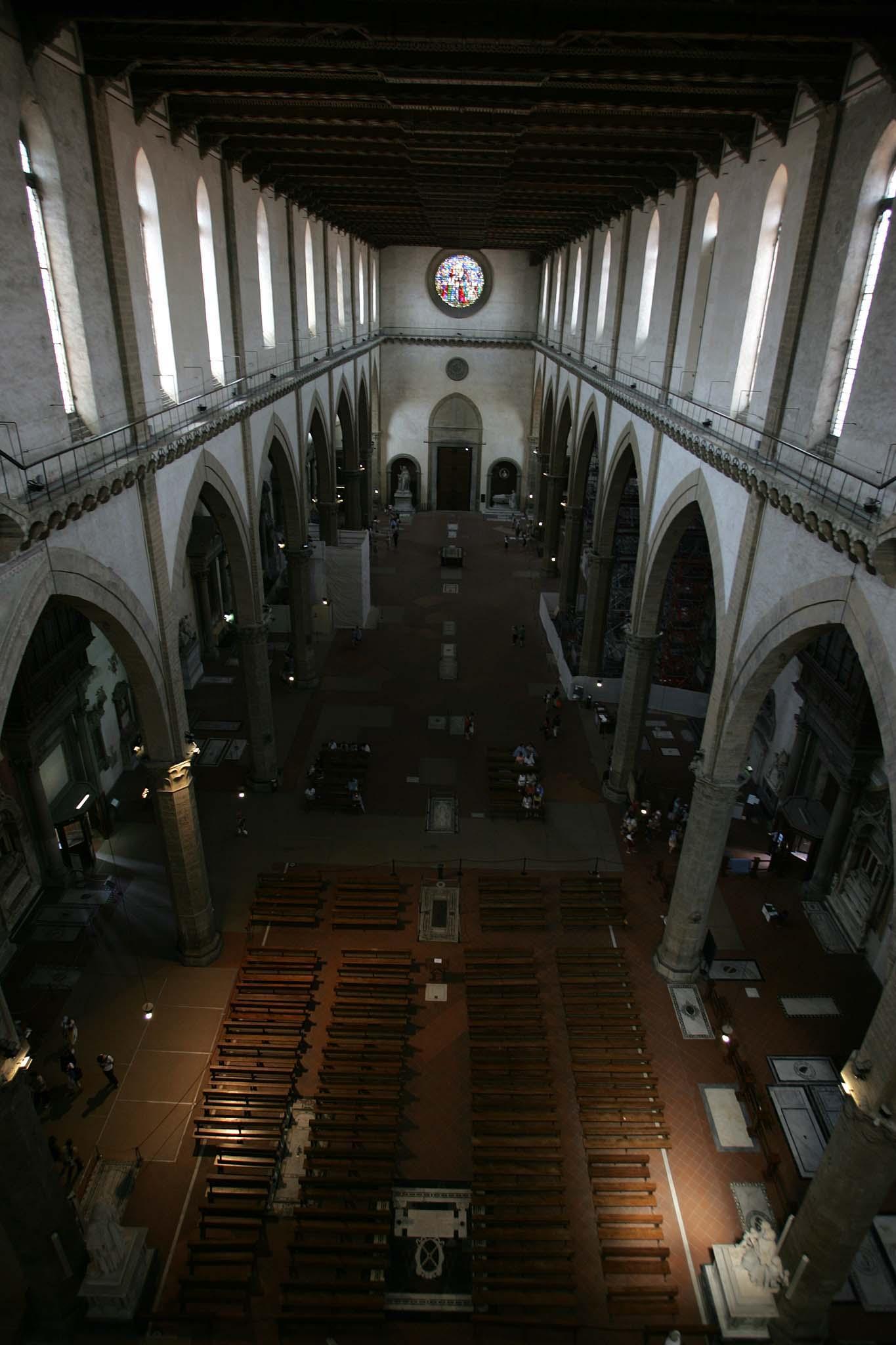 santa croce navata centrale