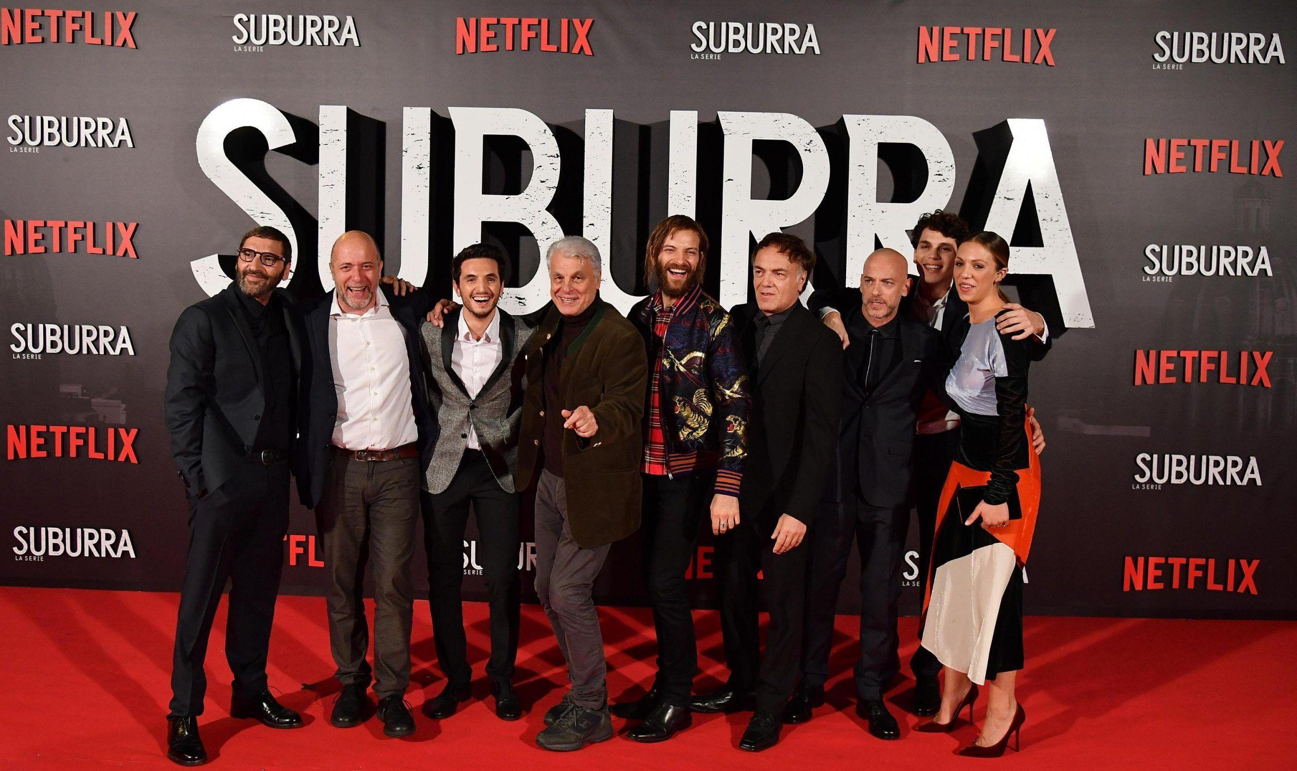 Premiere of 'Suburra La Serie' in Rome