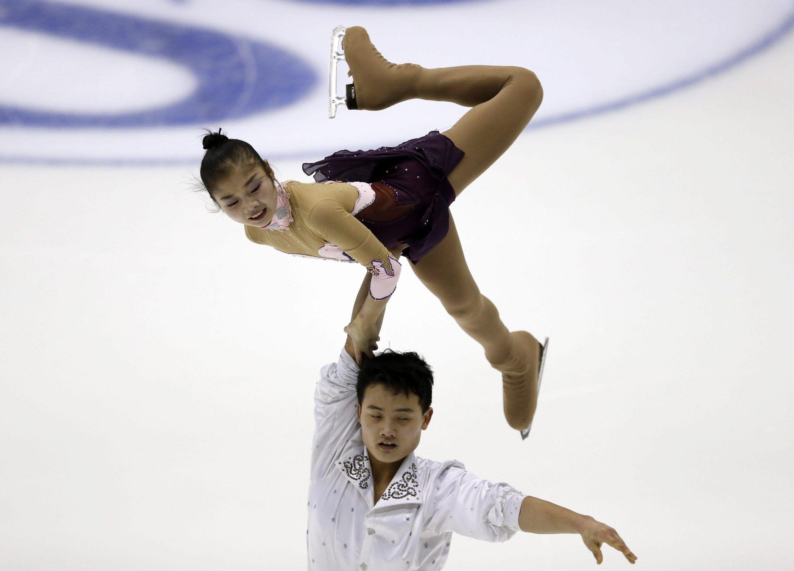 Tae Ok Ryom e Ju Sik Kim dalla Corea del Nord