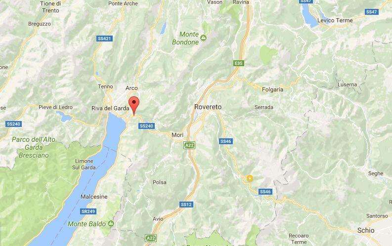 Terremoto in Trentino, oggi 31 ottobre 2017: scossa di magnitudo 3.1