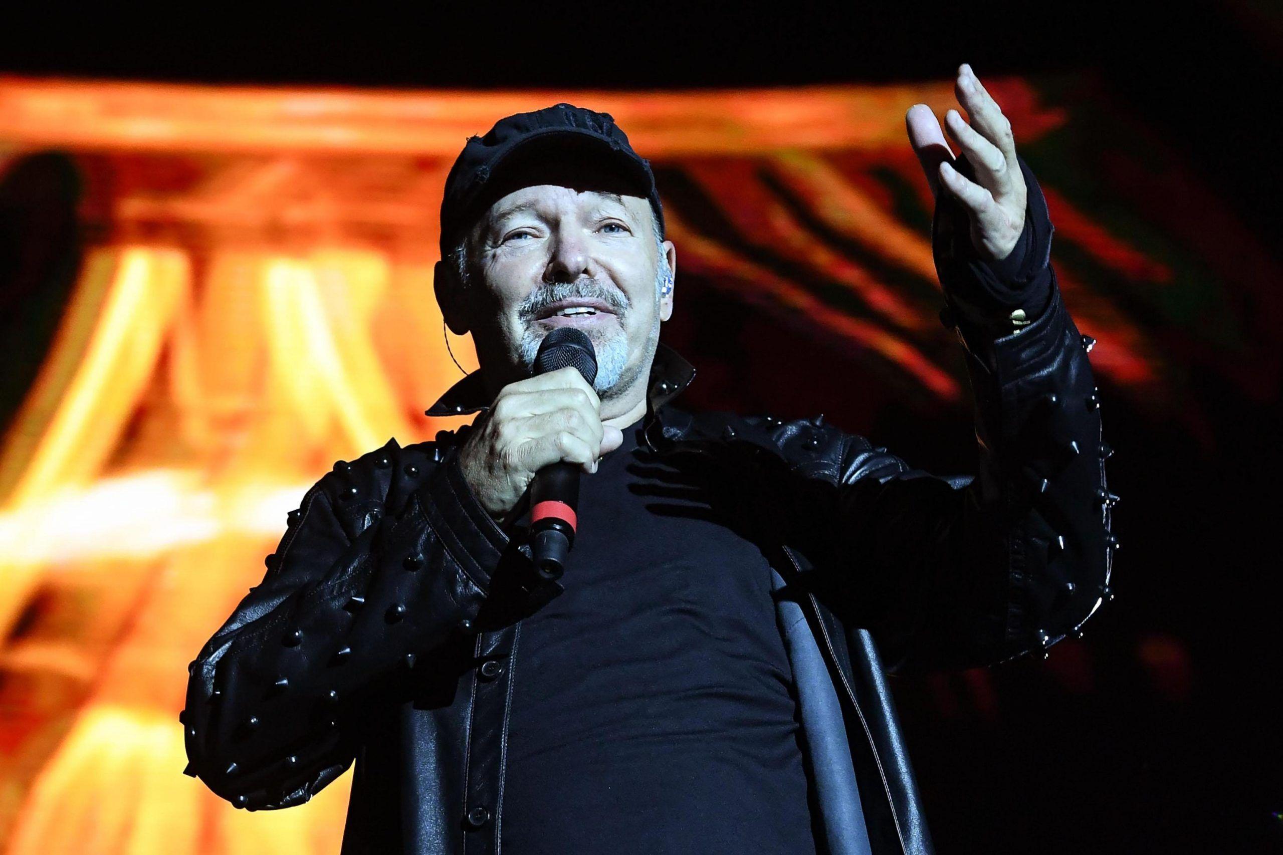Vasco Rossi performs in Modena