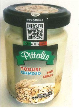 Yogurt erroneamente venduto come senza glutine ritirato dal mercato