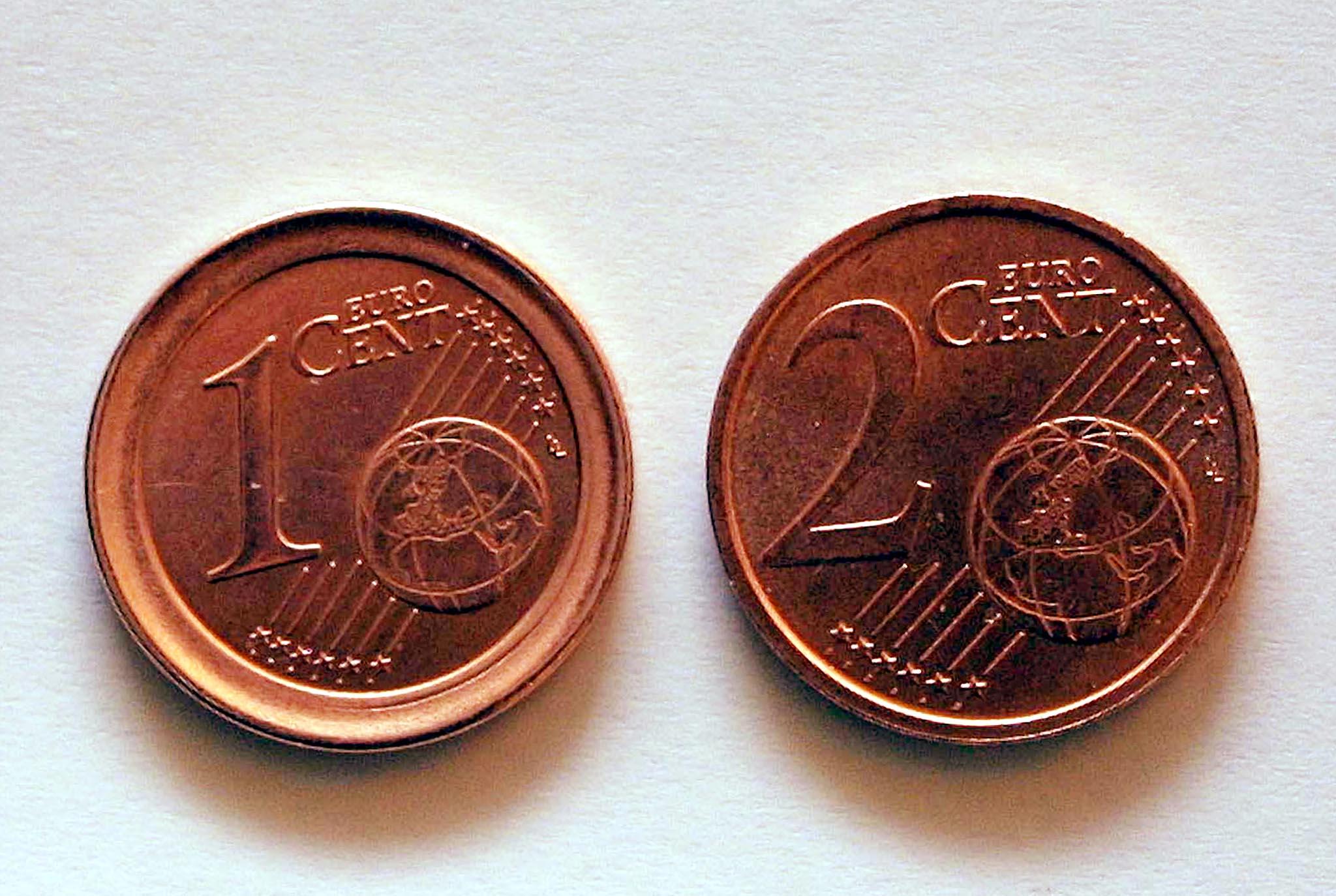 EURO: CENT ANOMALI
